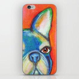 French Bulldog Face iPhone Skin