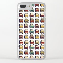 Tintops, Poptops and High Tops. Clear iPhone Case