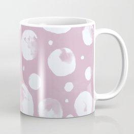 Snowballs-light mauve background Coffee Mug