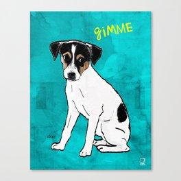 Dog Rat Terrier Canvas Print