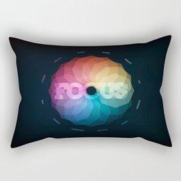 Focus Manifesto Rectangular Pillow