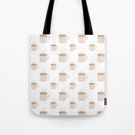 Tea and Coffee Cups Tote Bag