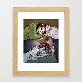 Pan's Labyrinth - Hermano Framed Art Print