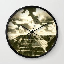 August 1937 Beartooth Highway Wall Clock