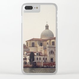 Venice in Winter mood Clear iPhone Case