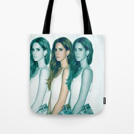 Lana - Blue Jeans, White Shirt Tote Bag