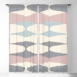 Zaha Pastel Blackout Curtain