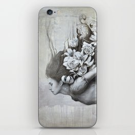 Le jardin d'Alice iPhone Skin