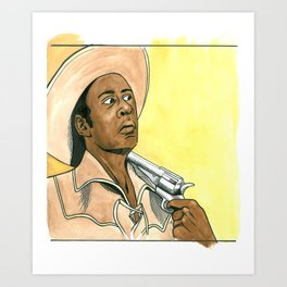 Blazing Saddles #1 Art Print