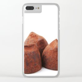 Chocolate Truffles Clear iPhone Case