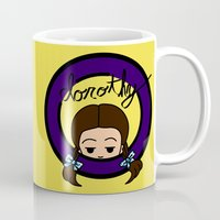 dorothy Mugs featuring Dorothy by Nightmare Productions