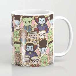 Kawaii Little Monsters Series 1 Pattern Print Coffee Mug