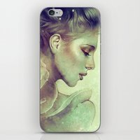 kpop iPhone & iPod Skins featuring June by Anna Dittmann