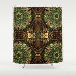 Dragon Lair Shower Curtain