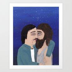 Romantic Scenery Art Print