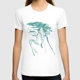 transparent mako shark T-shirt