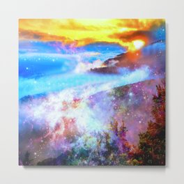 may your day be filled with magic Metal Print
