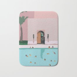 Middle Eastern Swims Bath Mat