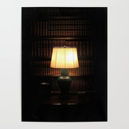 library, please hush Poster
