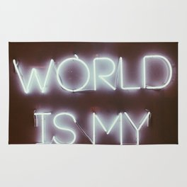 The World is my Runway (color) Rug