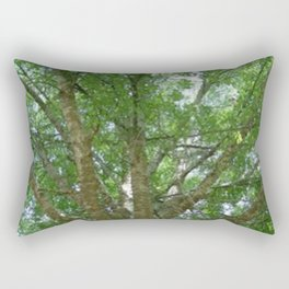 Wise Old Tree Too Rectangular Pillow