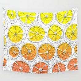 Red Lemonade Wall Tapestry