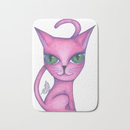 Fairy cat Bath Mat