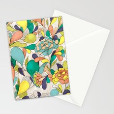 Balloons in bloom Stationery Cards
