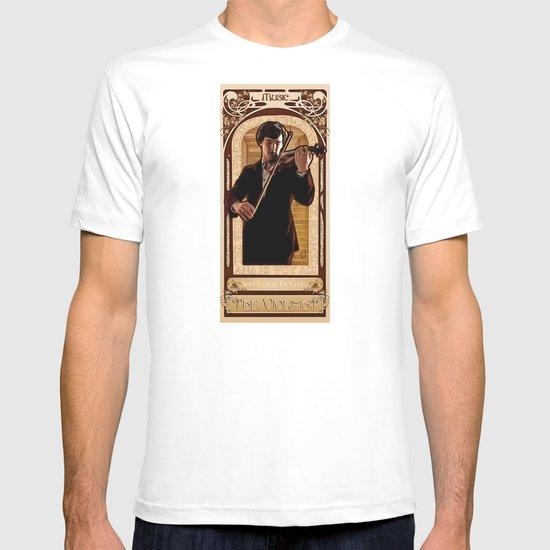 Art Nouveau: The Violinist T-shirt