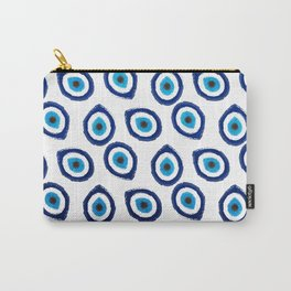 Evil Eye Teardrop Carry-All Pouch