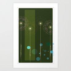 Isolate Verdancy Art Print