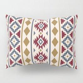 Aztec Essence Ptn III Red Blue Gold Cream Pillow Sham