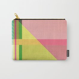 Green Line - pink graphic Carry-All Pouch
