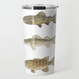 Trout, Bass, & Walleye Travel Mug