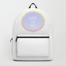 let it be Backpack