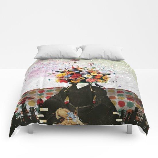 Madame Noon Comforters