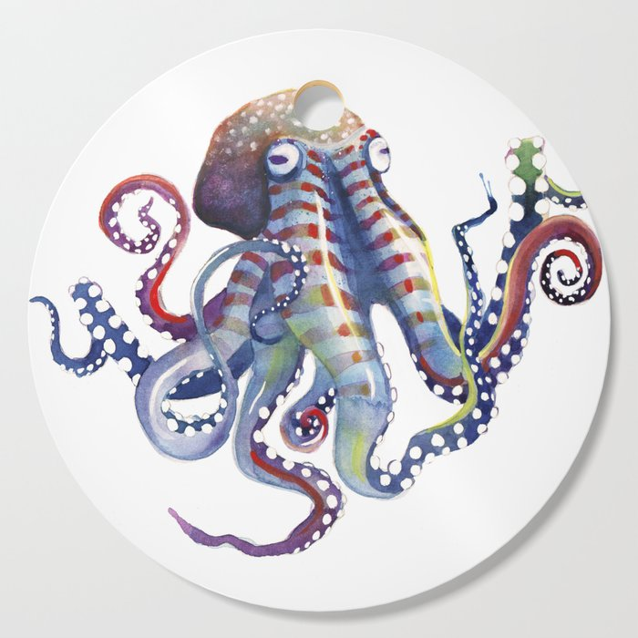 Octopus Cutting Board