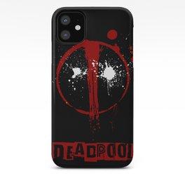 Deadpool. iPhone Case