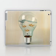 ideas and goldfish 03 Laptop & iPad Skin