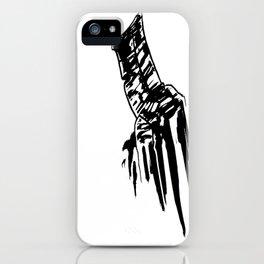 Tis But a Scratch  iPhone Case