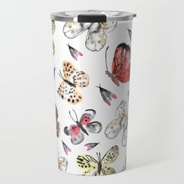 Fly fly butterfly Travel Mug