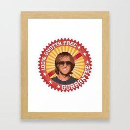 100% Guetta Free Framed Art Print