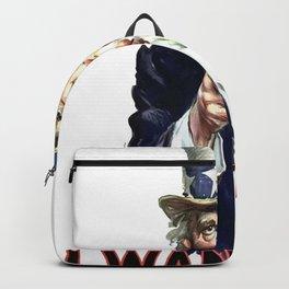 Uncle Sam I Want You Backpack
