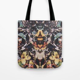 Rorschach Flowers 6 Tote Bag