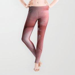 Pink Desert Succulent Leggings