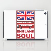 england iPad Cases featuring England Soul by Tony Vazquez