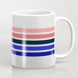 Muted Retro Stripes Coffee Mug
