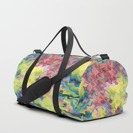 Lost in Thought; Fluid Abstract 56 Duffle Bag
