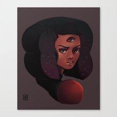 Garnet 3-eye portrait Canvas Print