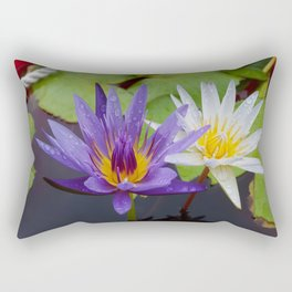 Loving Lotuses Rectangular Pillow